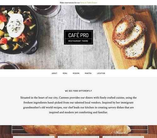 Studiopress Cafe Pro