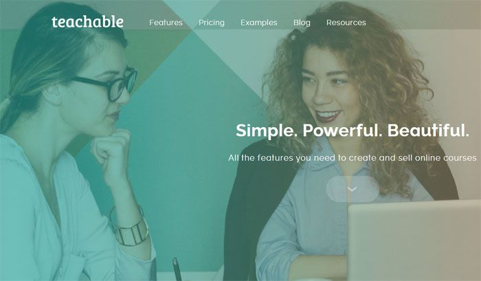 Teachable 线上教学平台
