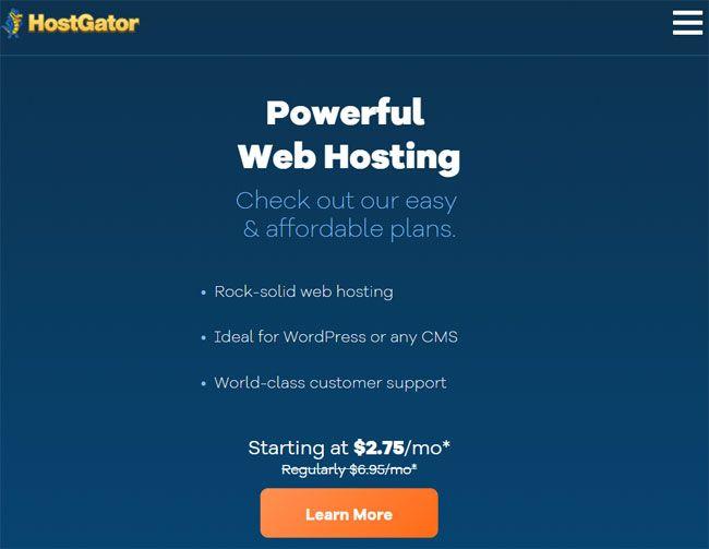 HostGator虛擬主機