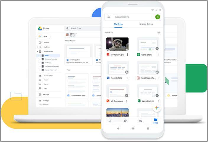 Google Drive雲端硬碟