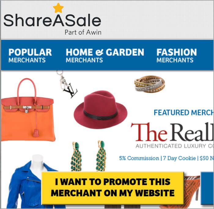 ShareASale 联盟行销