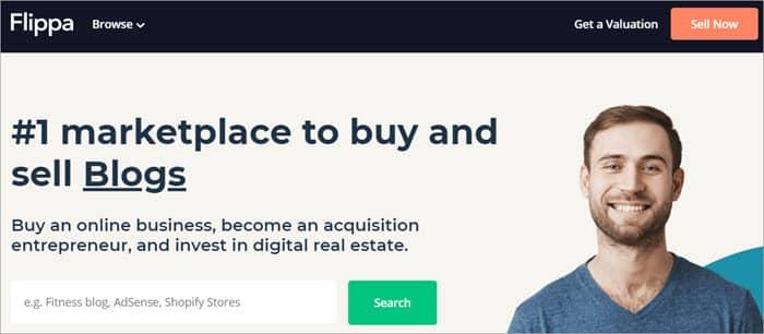 Flippa 網站拍賣平台