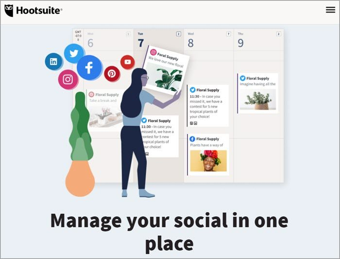 HootSuite社群行銷軟體